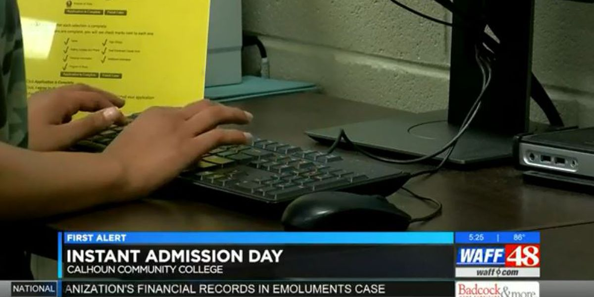 Instant Admission Days at Calhoun Community College