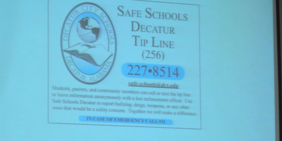 Dozens attend PEACE student safety night in Decatur