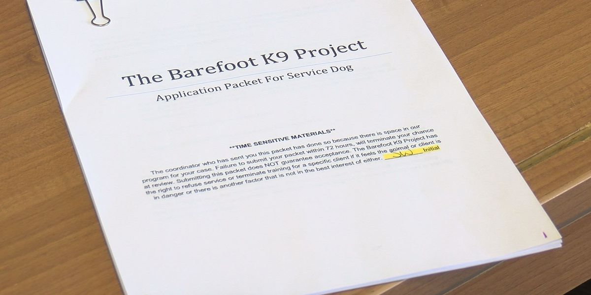 WAFF Investigates: The Barefoot K9 Project