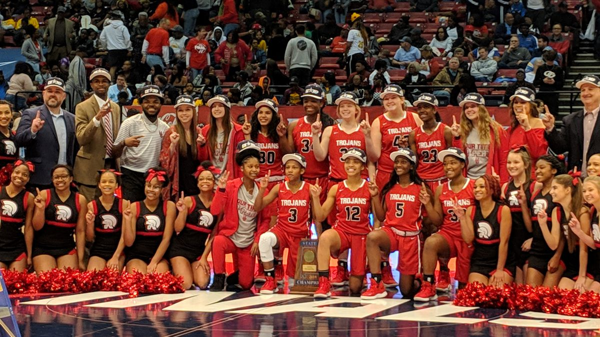 Hazel Green girls win 6A basketball championship