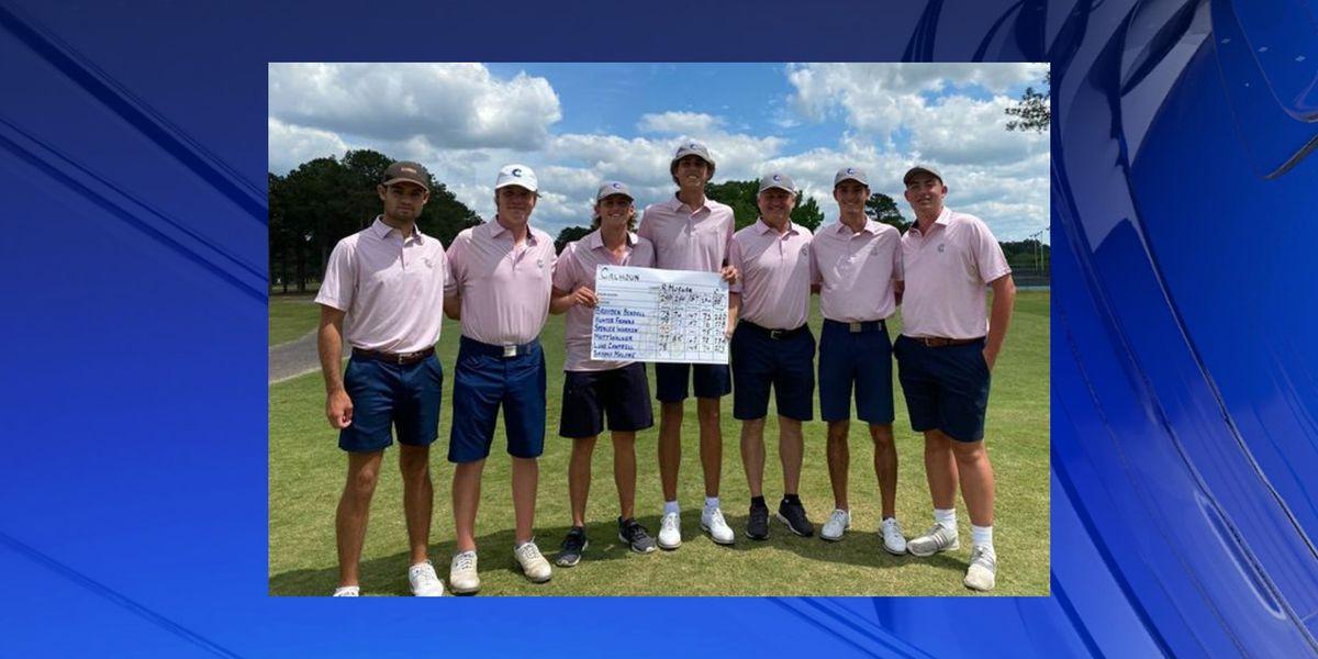 Calhoun Community College Men's Golf Team heading to the National Golf Tournament