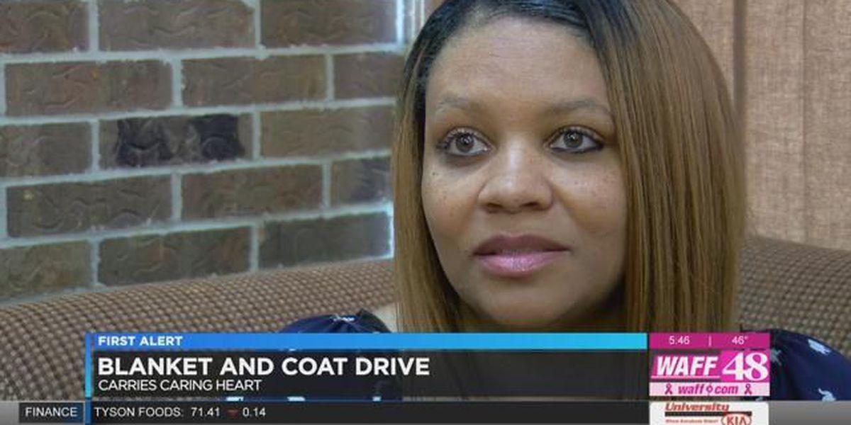 Organization hosting blanket and coat drive for homeless