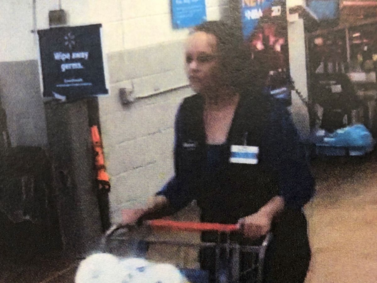 Crime Stoppers: Thief dressed like Walmart employee stole cart full of items