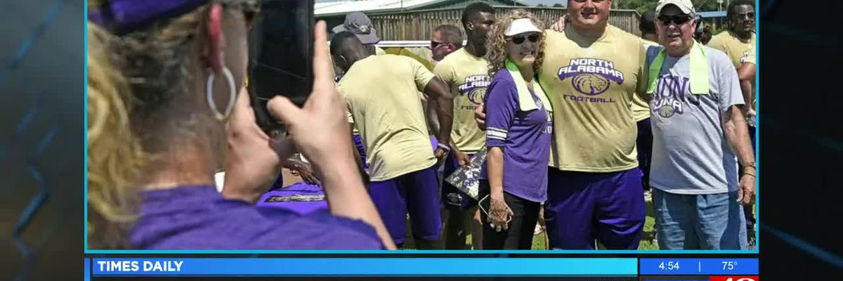Fan fest bring players, community together at UNA in Florence