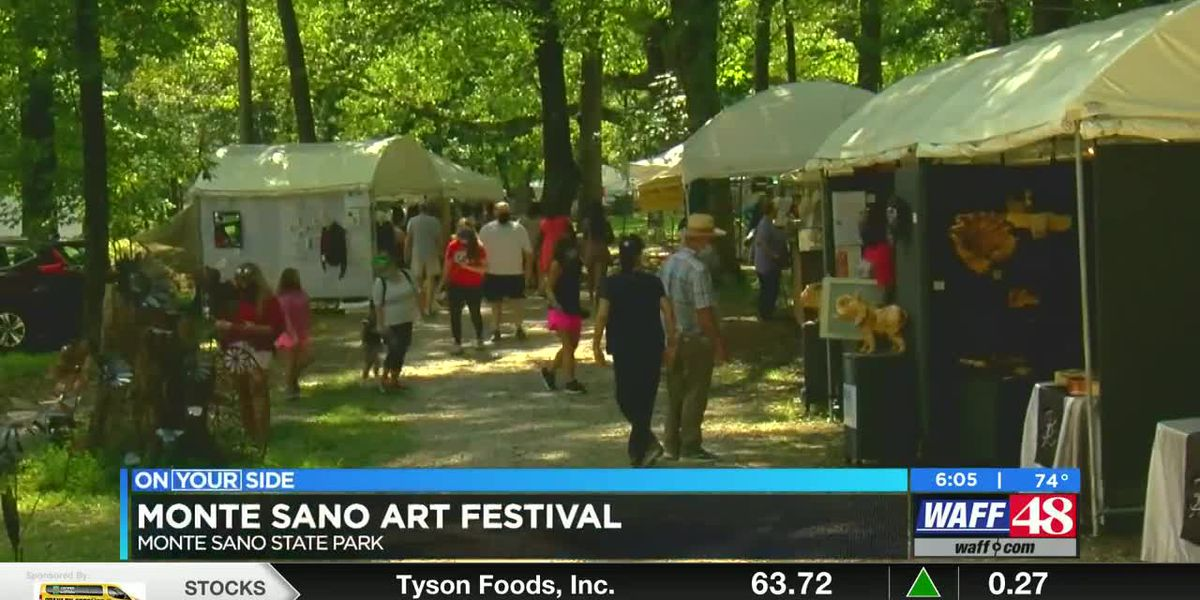 Monte Sano State Park hosts art festival