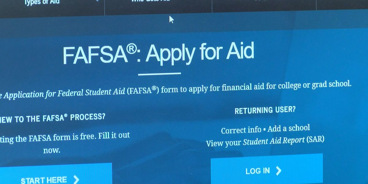 Millions of dollars in FAFSA pell grants untouched, group says