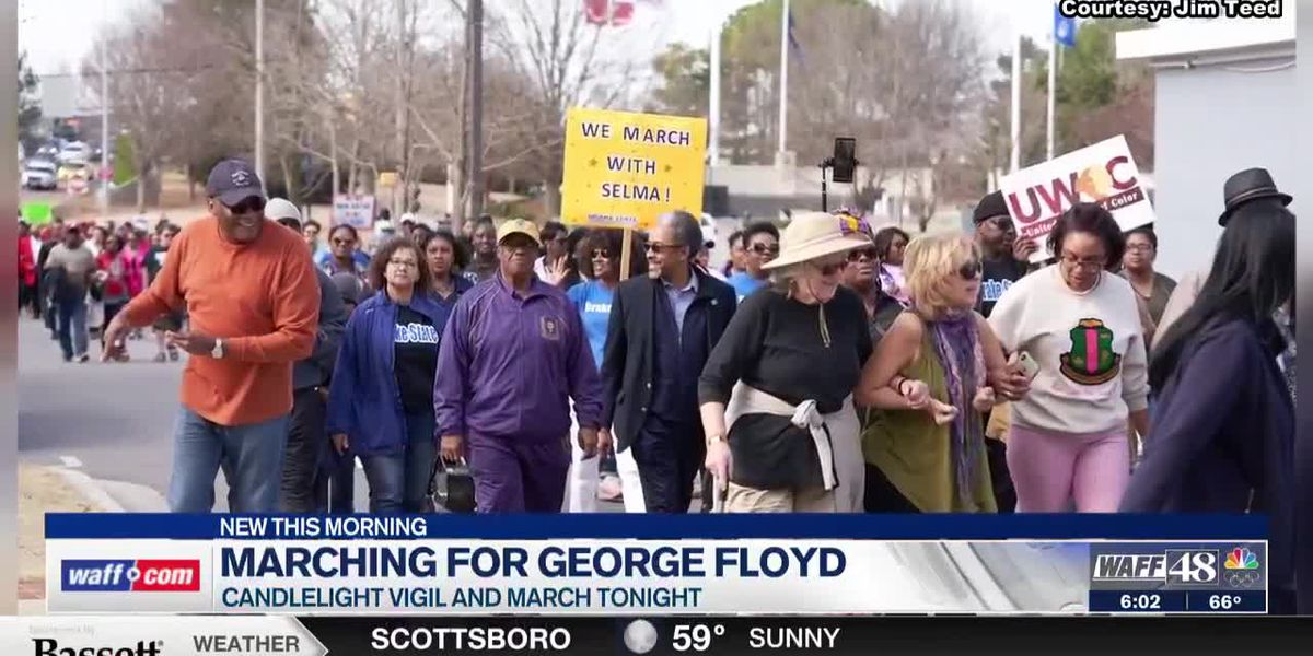 Huntsville group to hold march, vigil in George Floyd's name