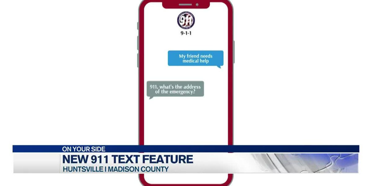 You can now text with 911 dispatchers in Madison County