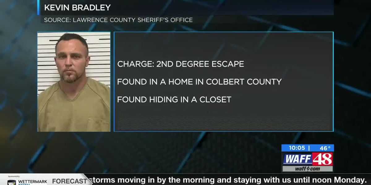 Inmate rearrested