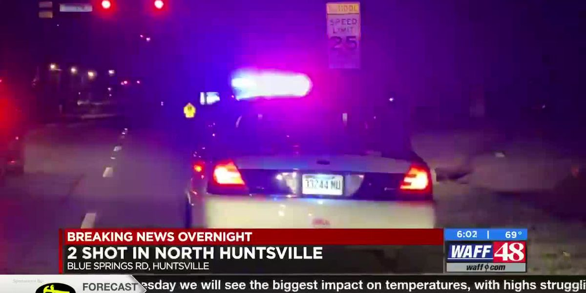 2 shot in north Huntsville