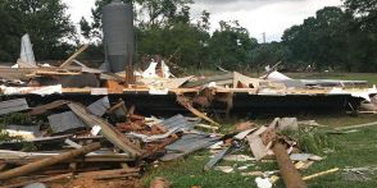 Donations being taken for Cullman County family following tornado