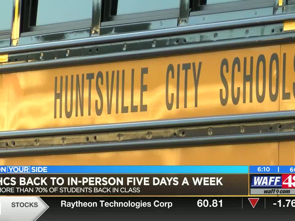 Huntsville parents talk about return to five day a week in-person learning