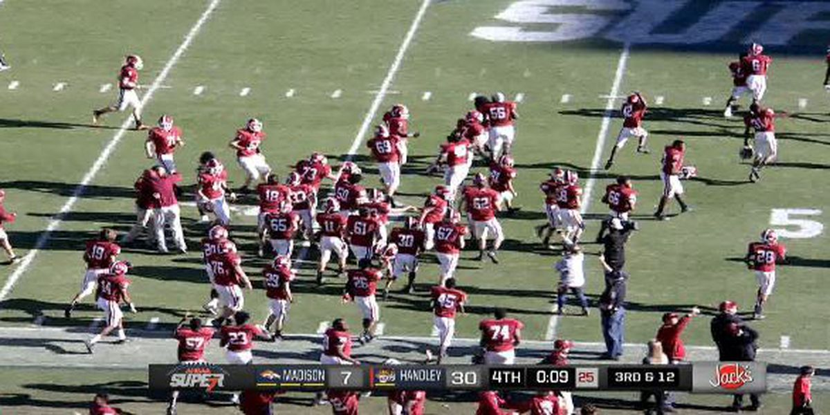 Handley wins 4A Football State Title