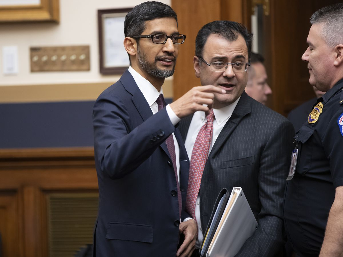 The Latest: House committee kicks of grilling of Google CEO