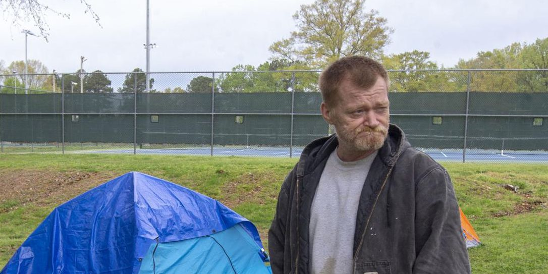 Homeless residents in Florence find shelter at Veterans Park