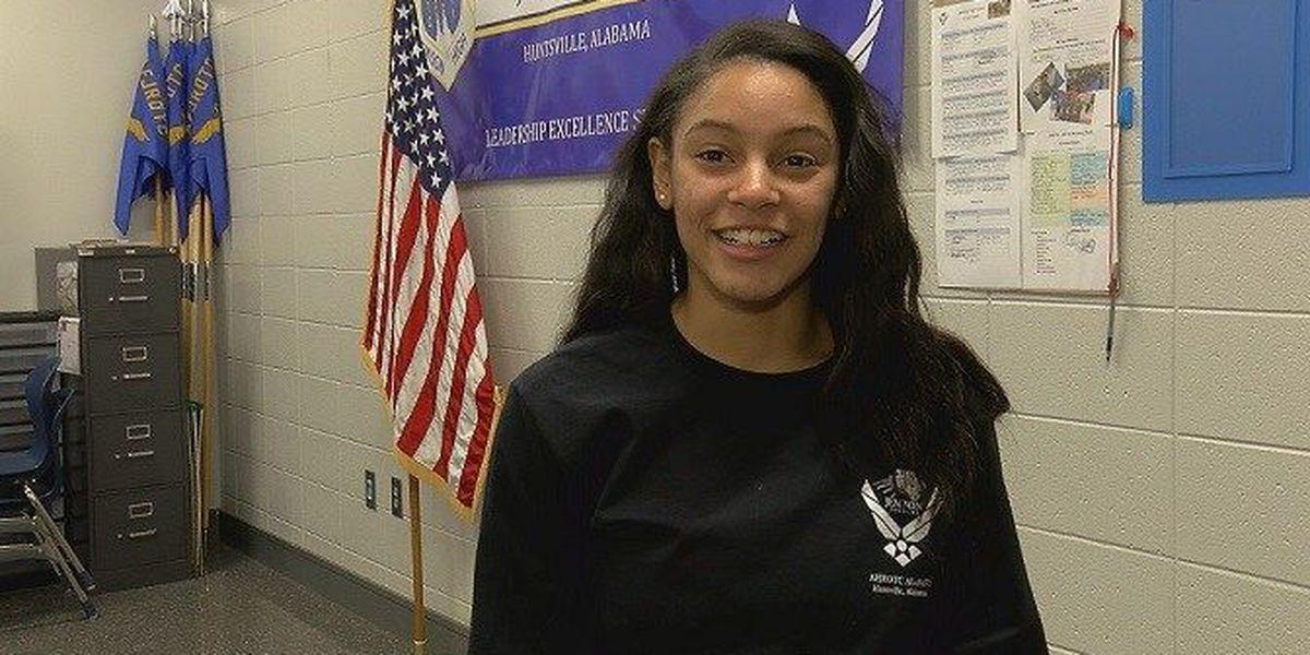 Mae Jemison student named Alabama JROTC cadet of the year