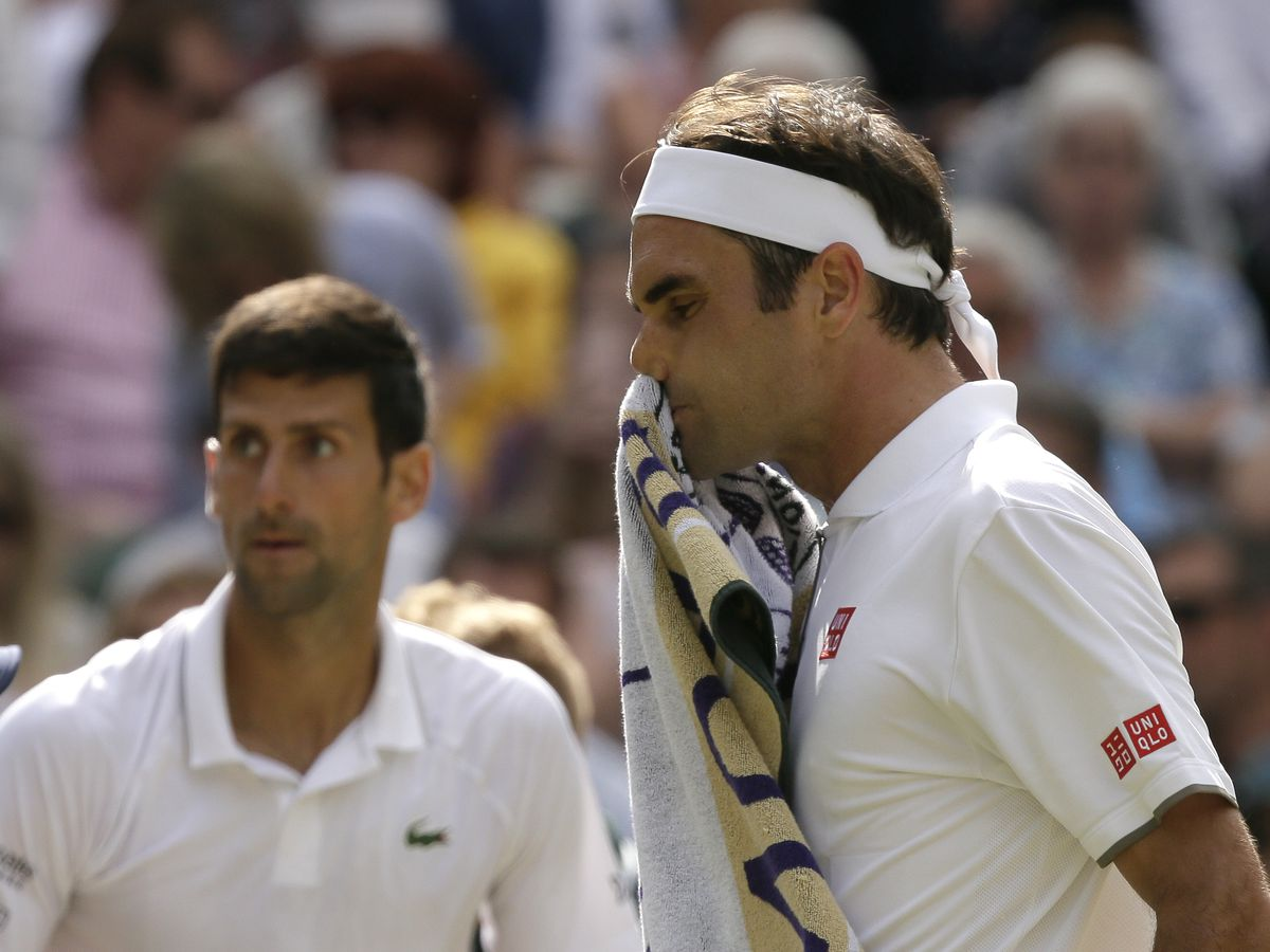 Djokovic edges Federer in 5 sets for 5th Wimbledon trophy