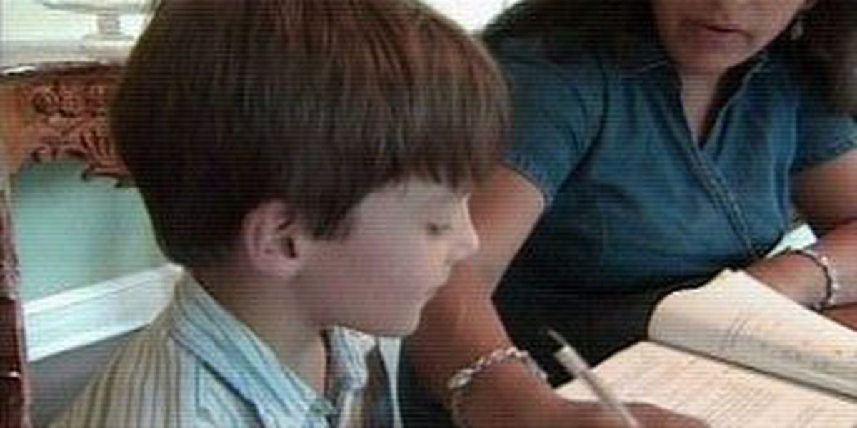 11-year-old boy in college, not middle school