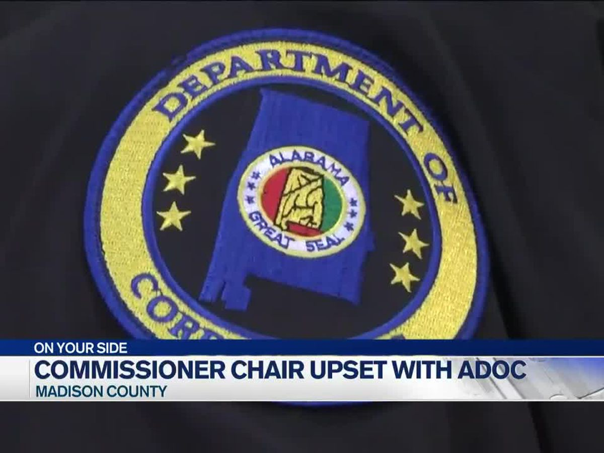 Madison County Commission Chairman calls out ADOC, ADOC Commissioner blames COVID-19 and federal court order