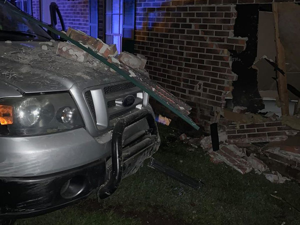 Truck drives into child's bedroom of Montgomery home