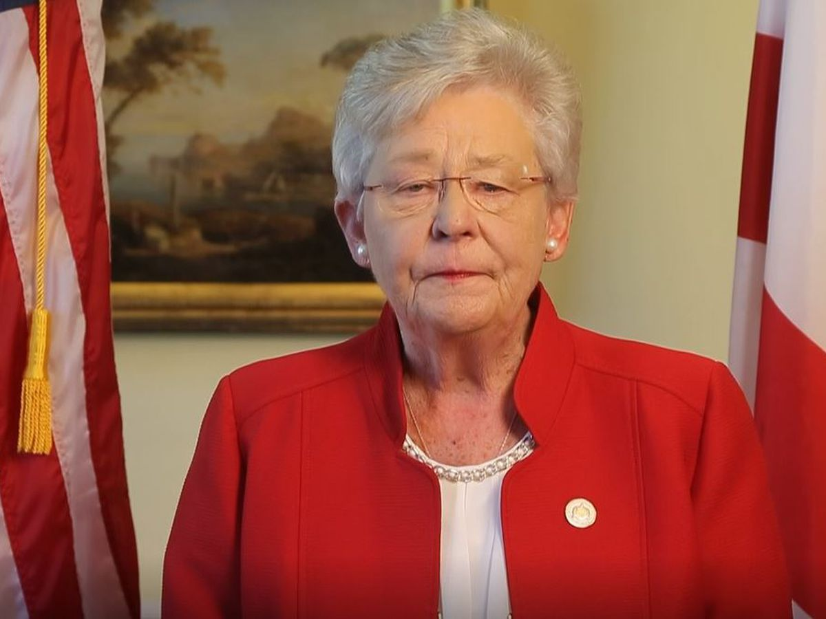 Alabama Governor Kay Ivey announces she has lung cancer