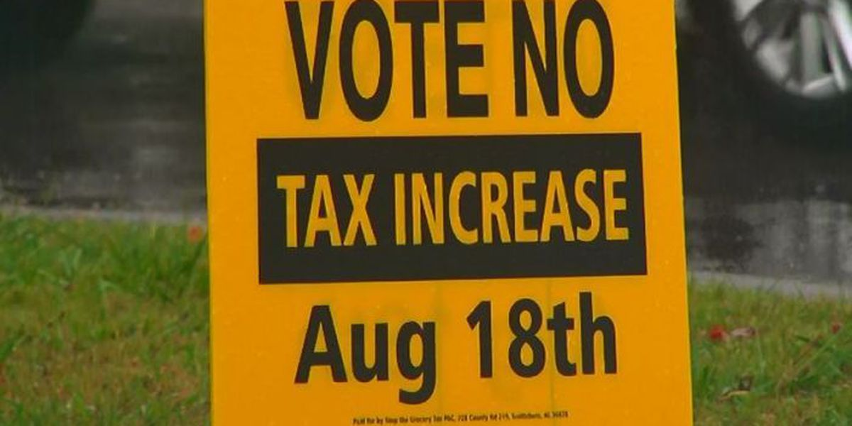 WATCH WAFF: Jackson Co. voters make their decision on proposed sales tax; Road closures beginning today