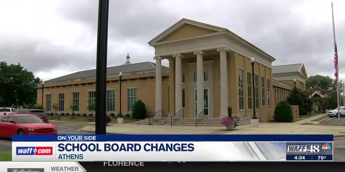 School Board changes are being made in Athens
