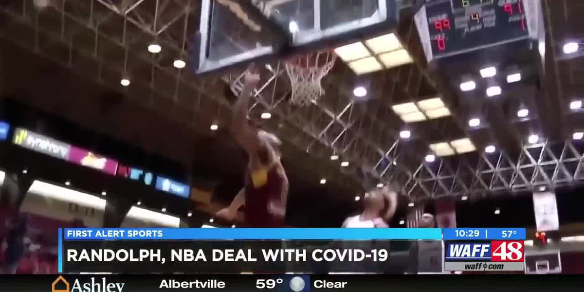 Levi Randolph deals with the new normal