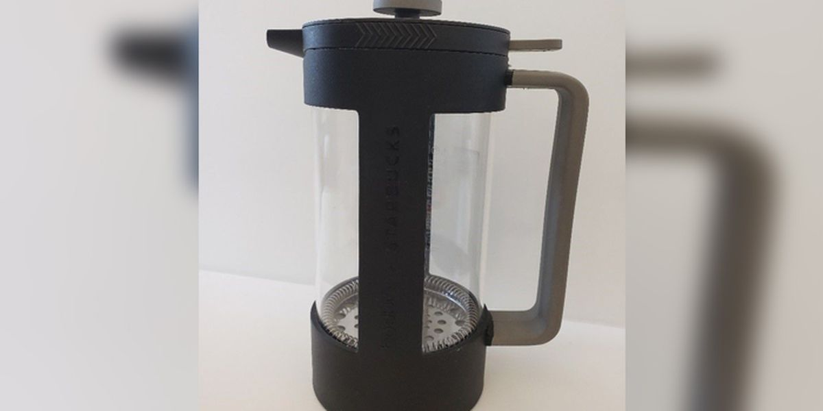 Starbucks recalls french press over cutting concerns
