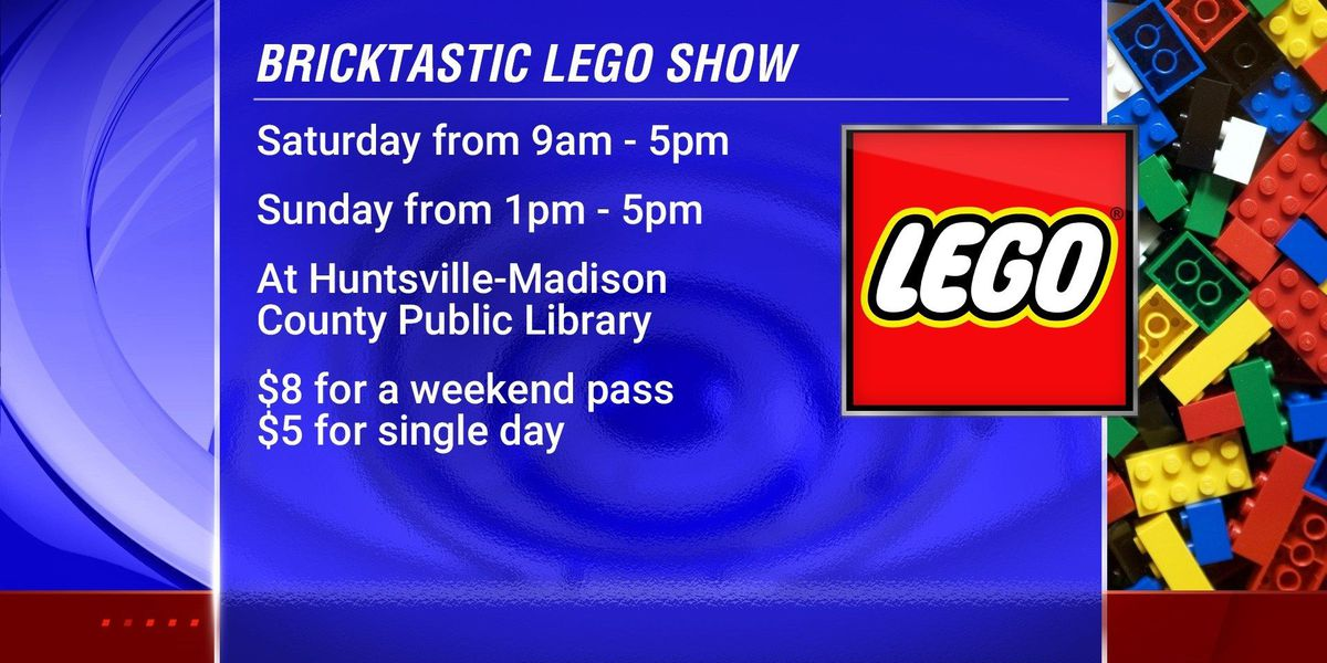 LEGO fun at the library
