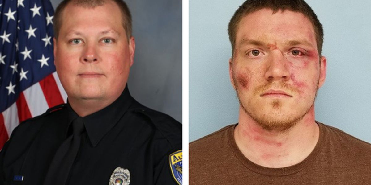 More details released about slain Auburn officer, suspect