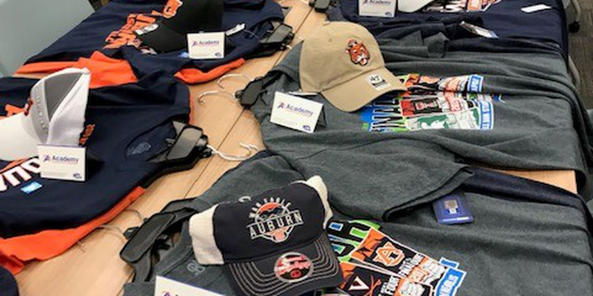 Academy Sports and Outdoors donates Auburn gear and gift cards to Lee County tornado survivors