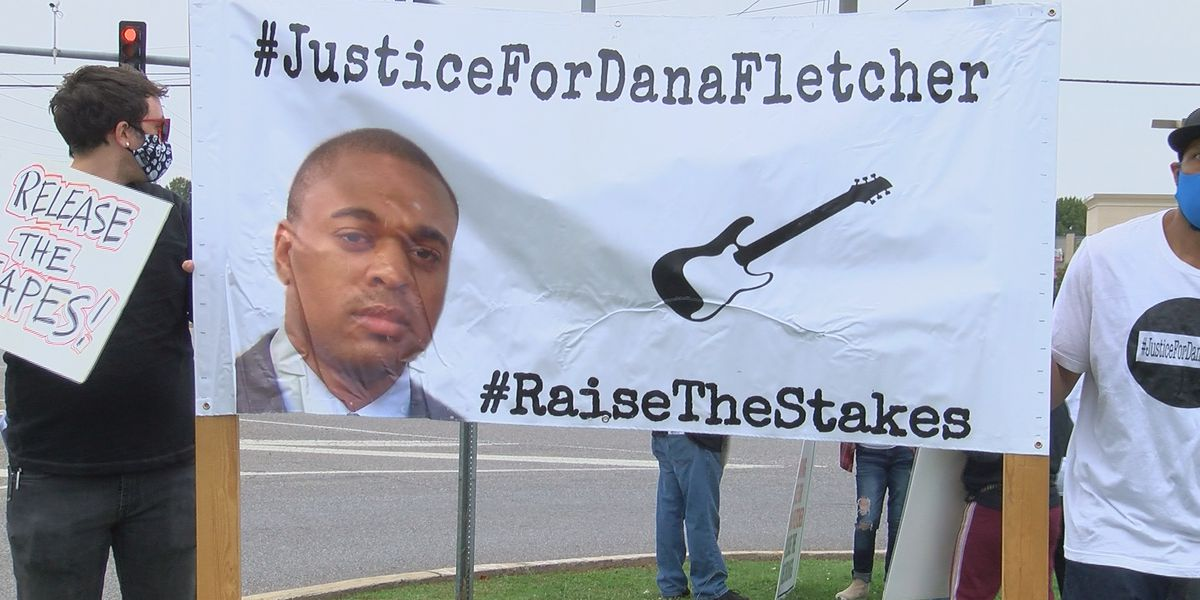 Family, organizers host concert and protests for Dana Fletcher anniversary