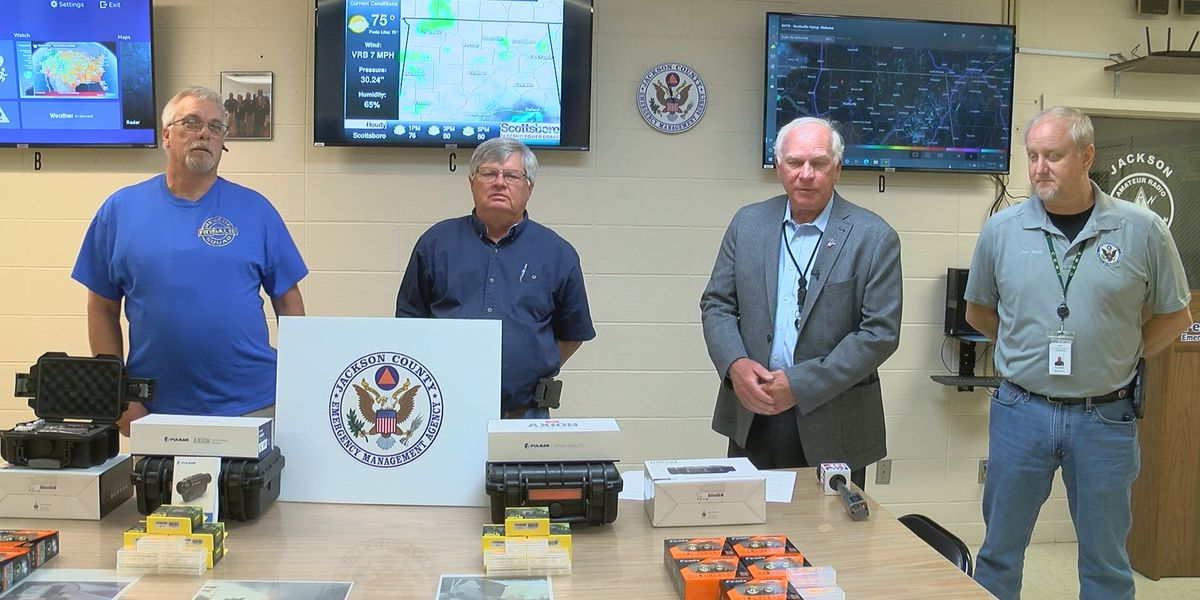 Jackson County Rescue squads receive thermal imaging, night vision equipment