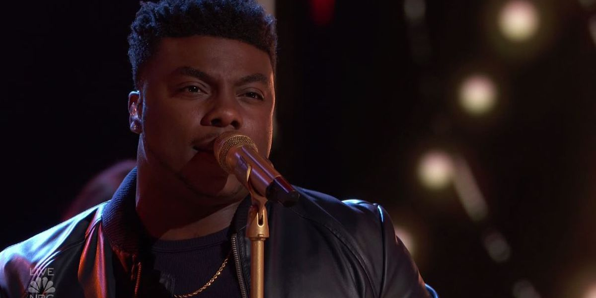 Alabama's Kirk Jay finishes third on 'The Voice'