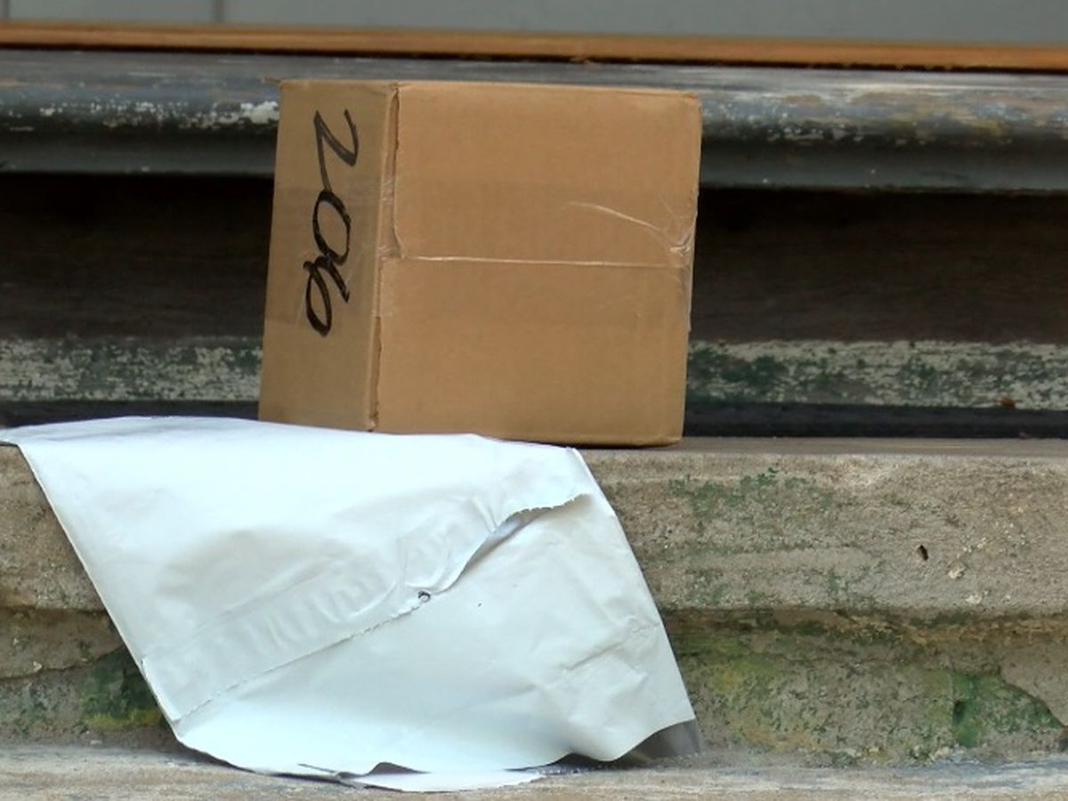 Porch pirate numbers are down around Huntsville, but more widespread
