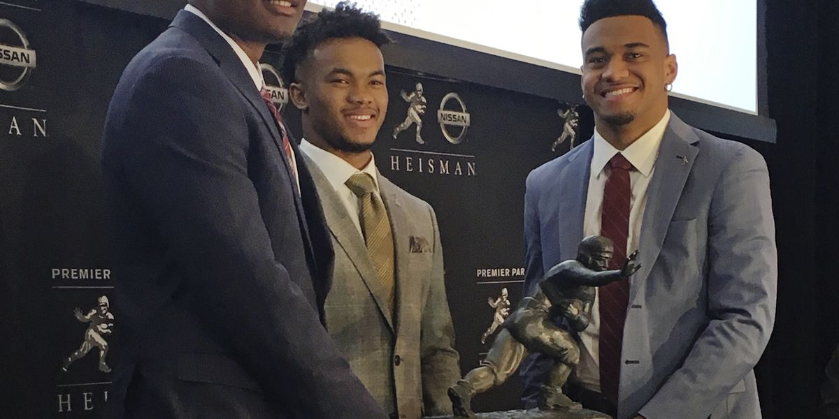Heisman Trophy: Stock soared for 1st-time starting QBs