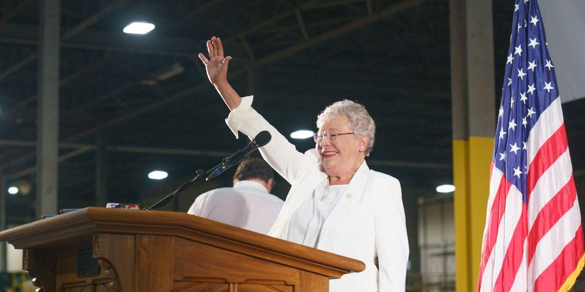 Alabama Gov. Kay Ivey announces she has lung cancer