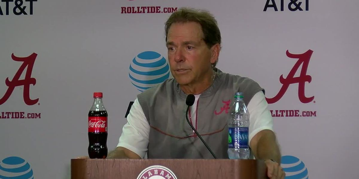 Saban presser 8-10-19 - clipped version