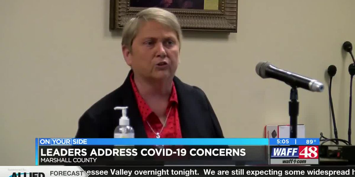 Marshall County officials discuss latest COVID-19 issues