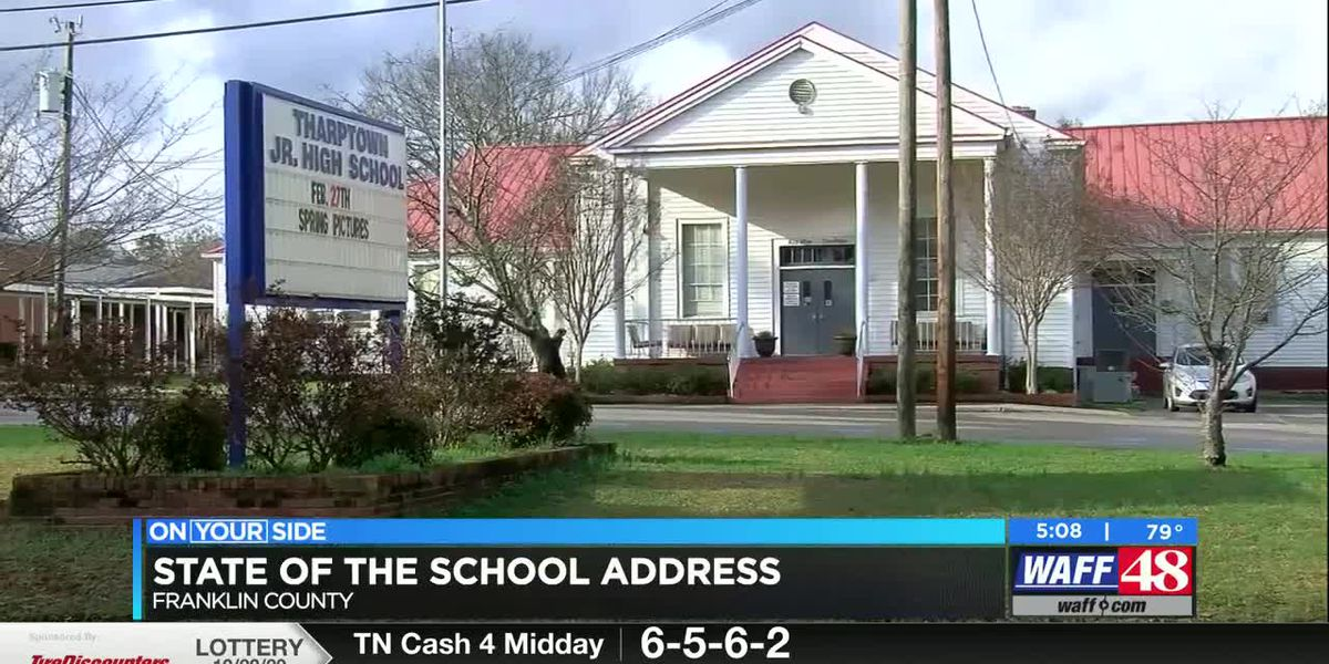 Franklin County and Russellville hosted State of School address