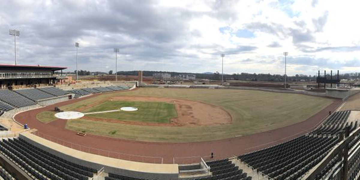 Work on Toyota Field progressing; 129 days until Trash Pandas spring opener