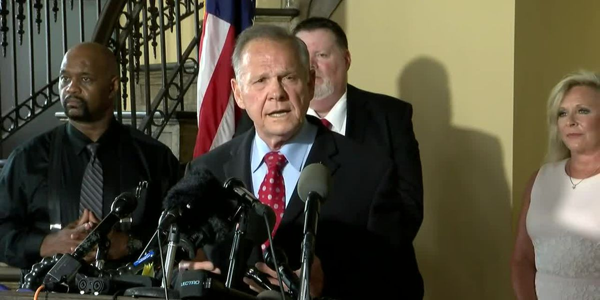 WATCH: Roy Moore to announce plans regarding Ala. Senate race
