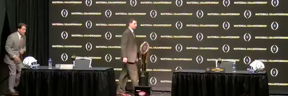 FULL: National Championship coaches press conference