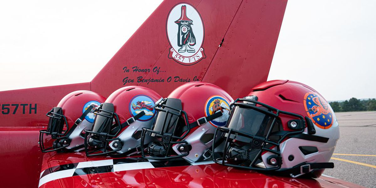 Air Force football unveils new uniforms honoring Tuskegee Airmen