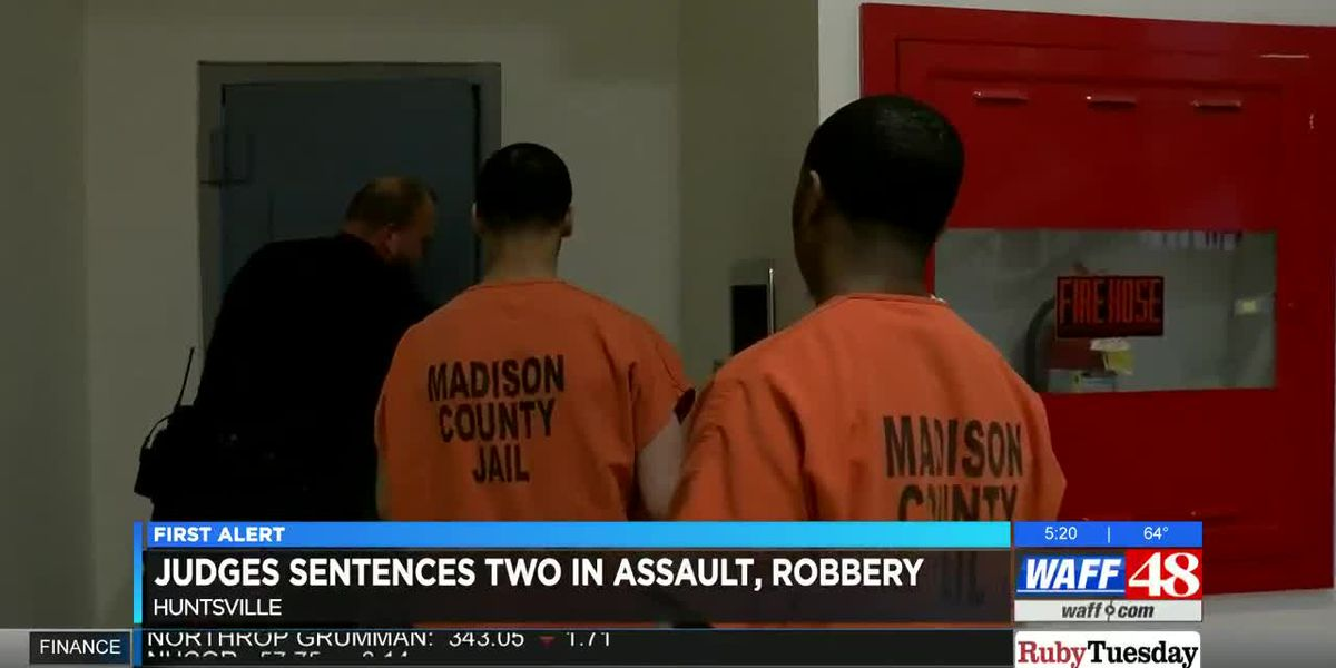 Madison County judges sentences two men in robbery, assault case