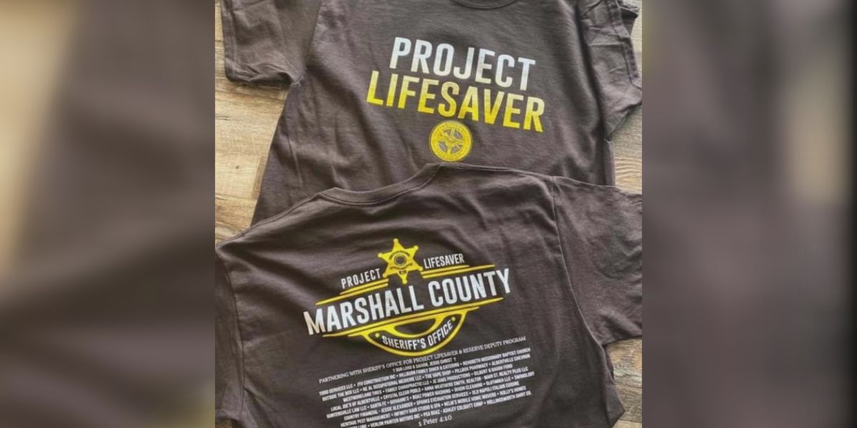 Marshall County couple raise money for Project Lifesaver Program