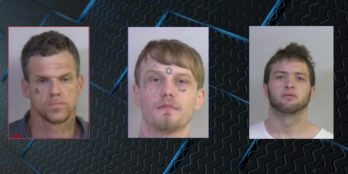Update: 3 inmates back in custody after Saturday escape from Tuscaloosa County Jail