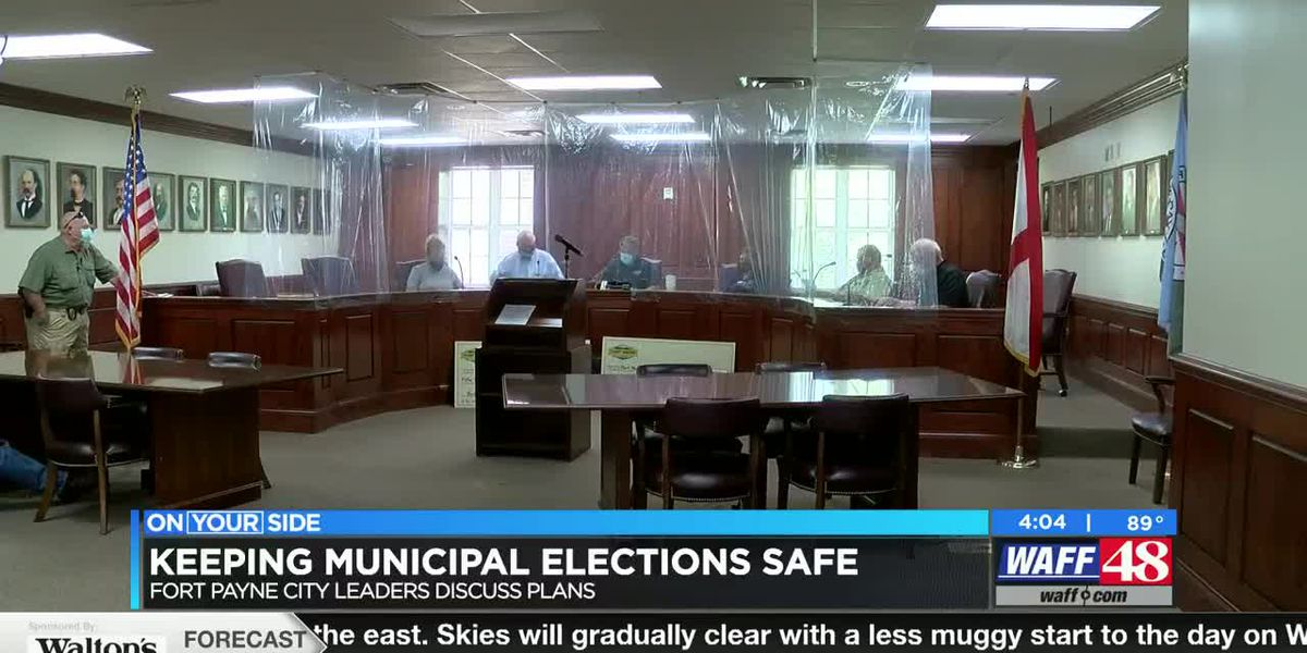 Fort Payne officials make COVID-19 preparations for municipal voting