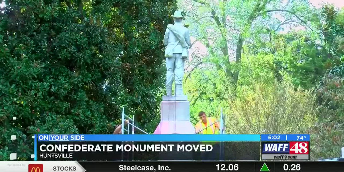 VIDEO: Madison County Confederate monument removed
